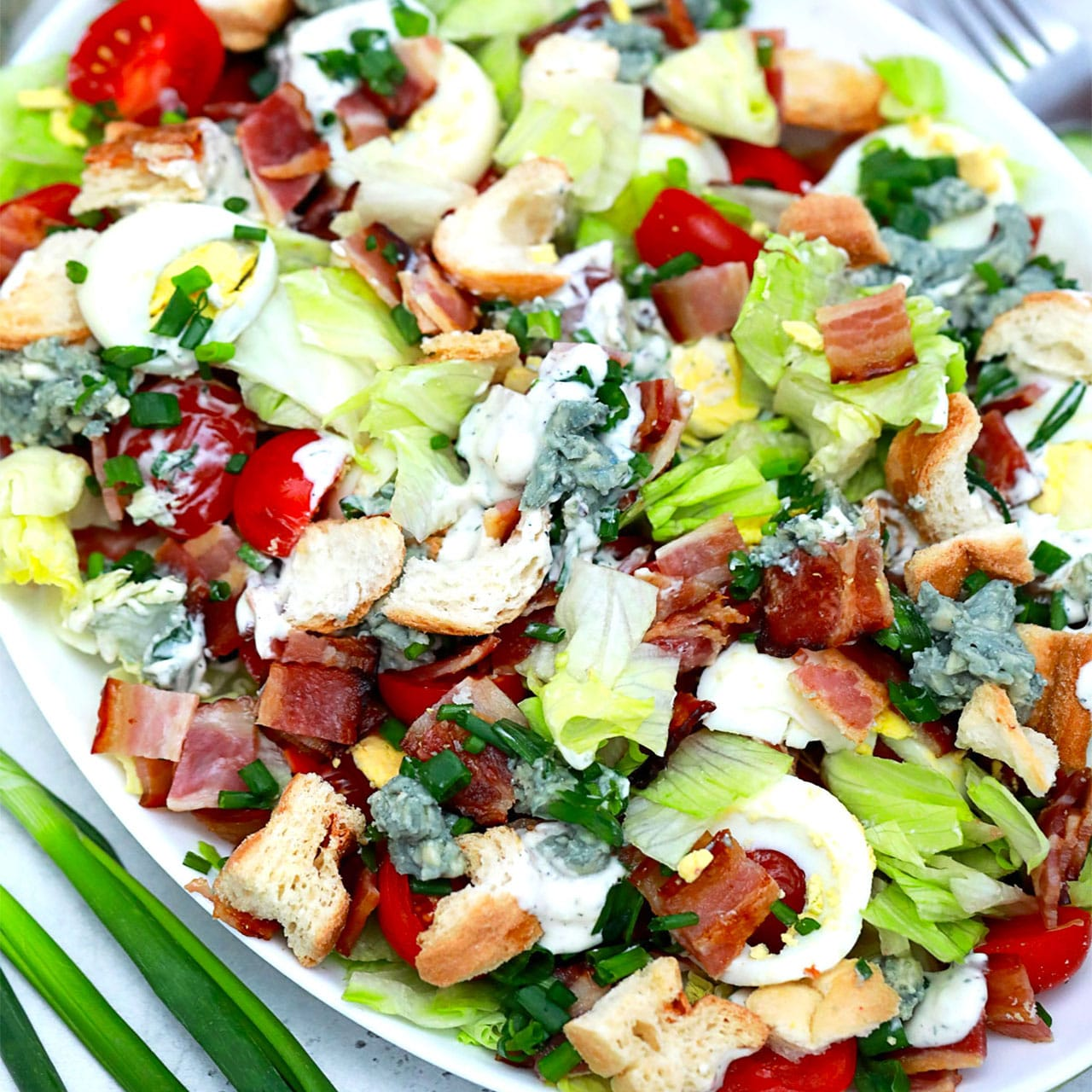 Photo of BLT Salad Recipe – Sweet and Savory Meals