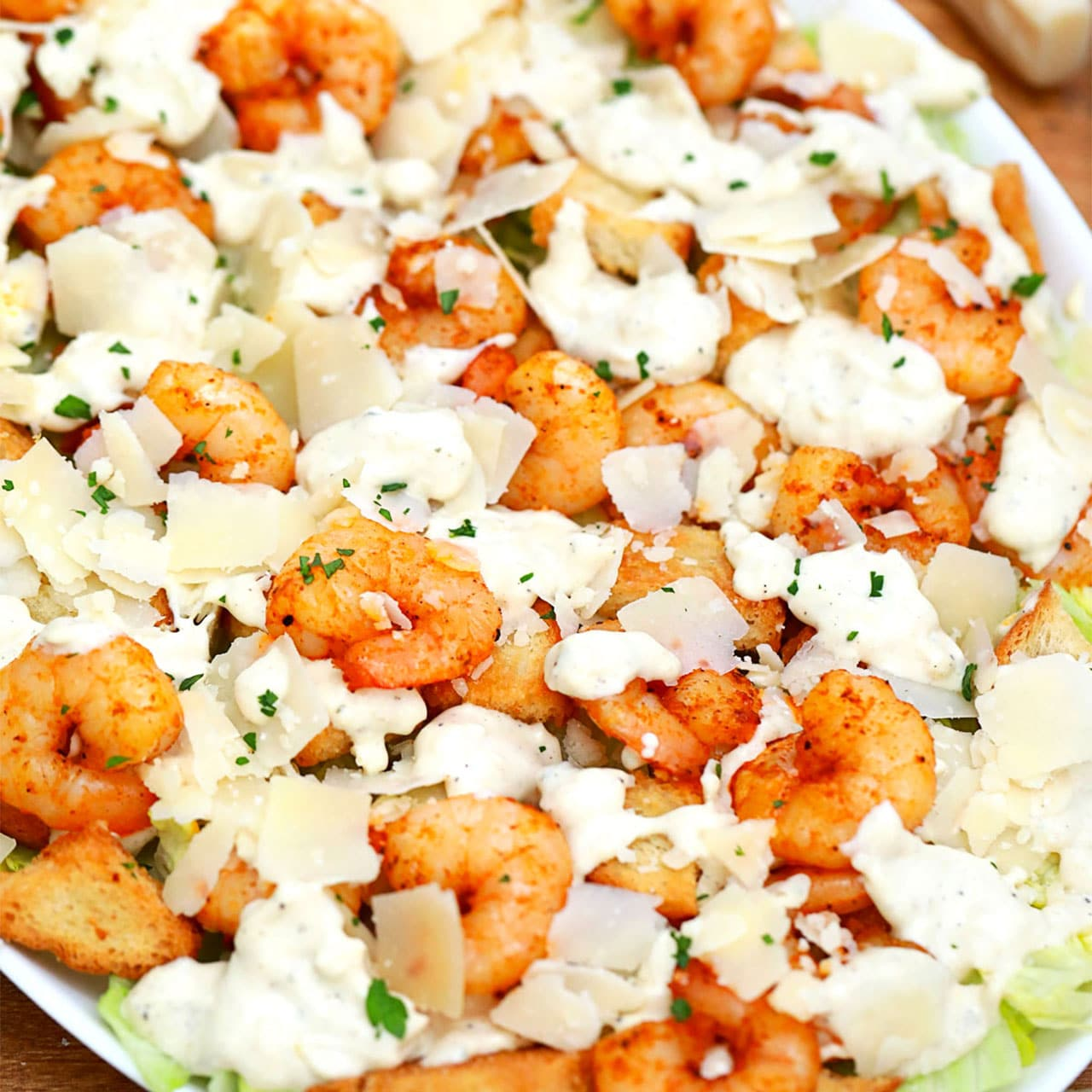Photo of Shrimp Caesar Salad – Sweet and Savory Meals