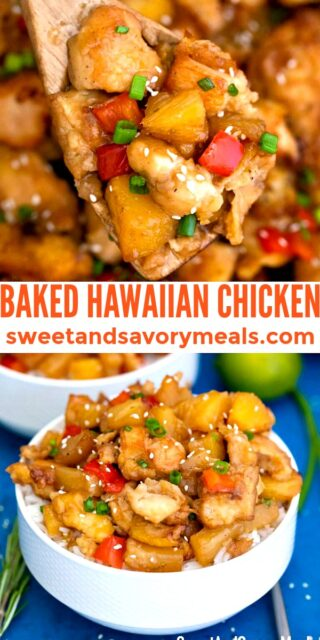 Baked Hawaiian Chicken pin