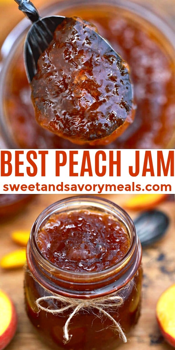 Easy Peach Jam pin