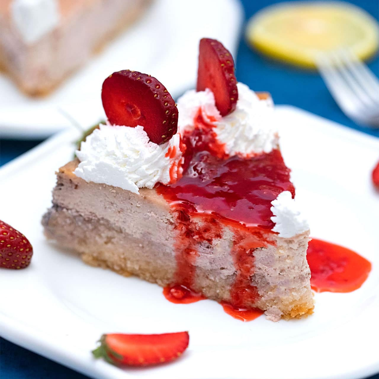 Photo of Keto Strawberry Cheesecake – Sweet and Savory Meals