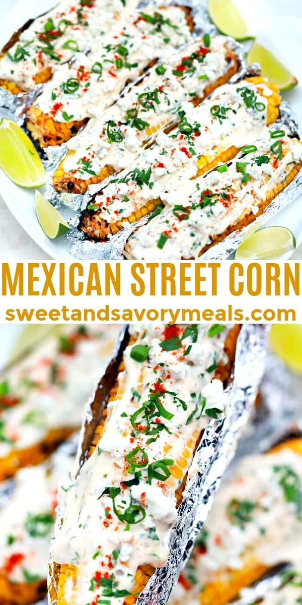 Easy Mexican Street Corn pin