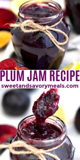 Easy Plum Jam pin
