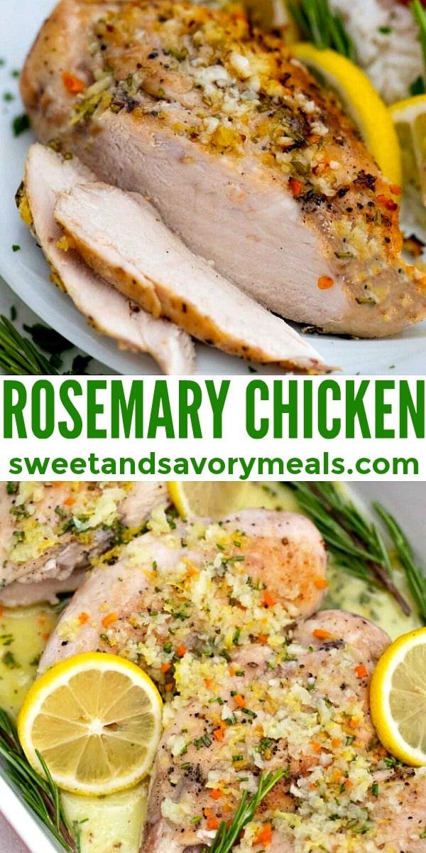 Easy Rosemary Chicken pin