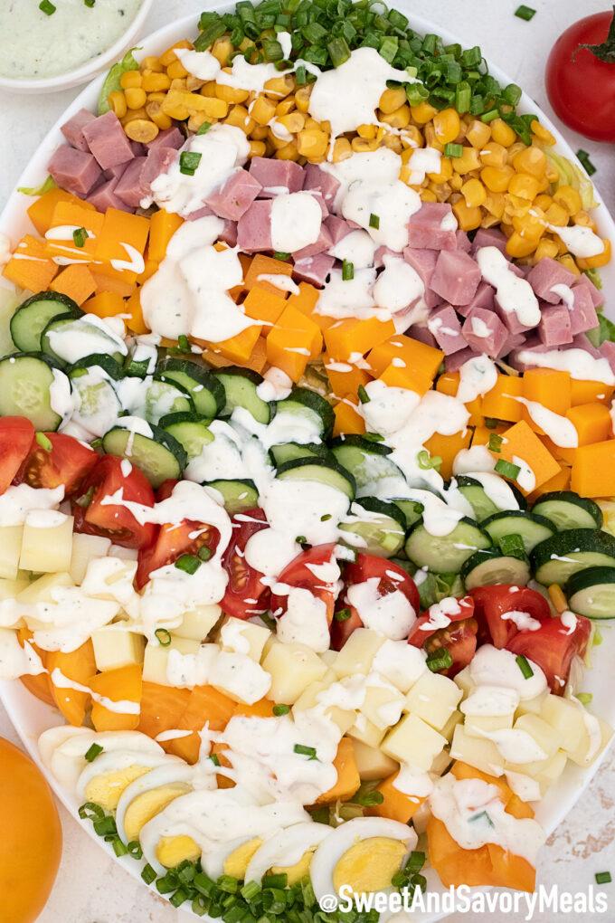 Picture of ham salad.