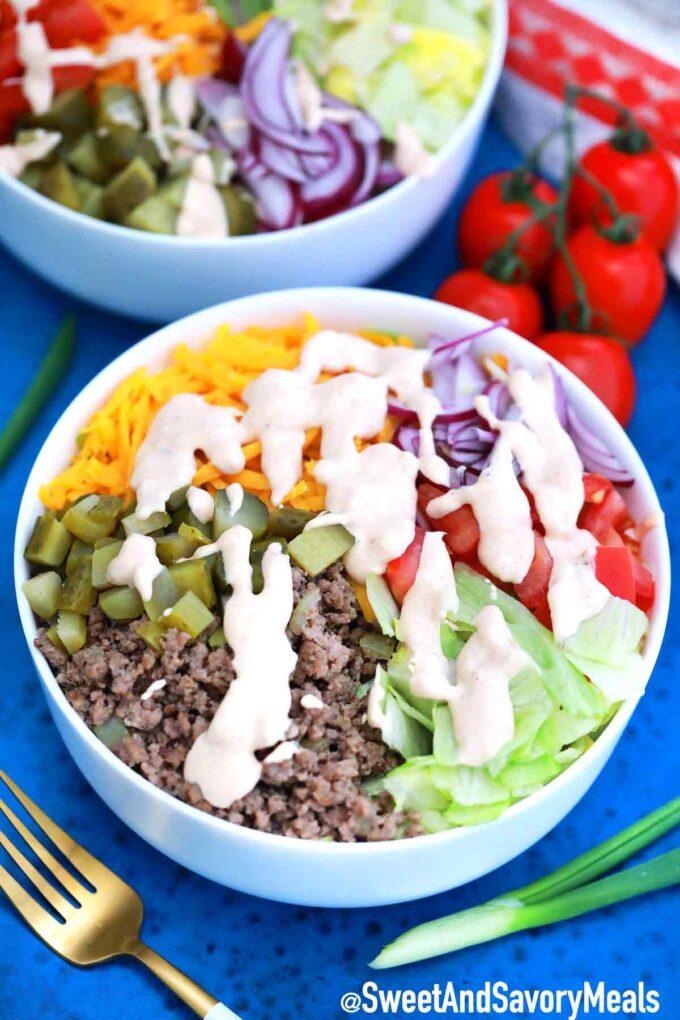 Big Mac Salad.