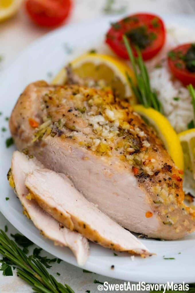 Rosemary chicken breast.