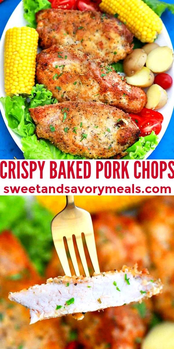 Easy Baked Pork Chops pin