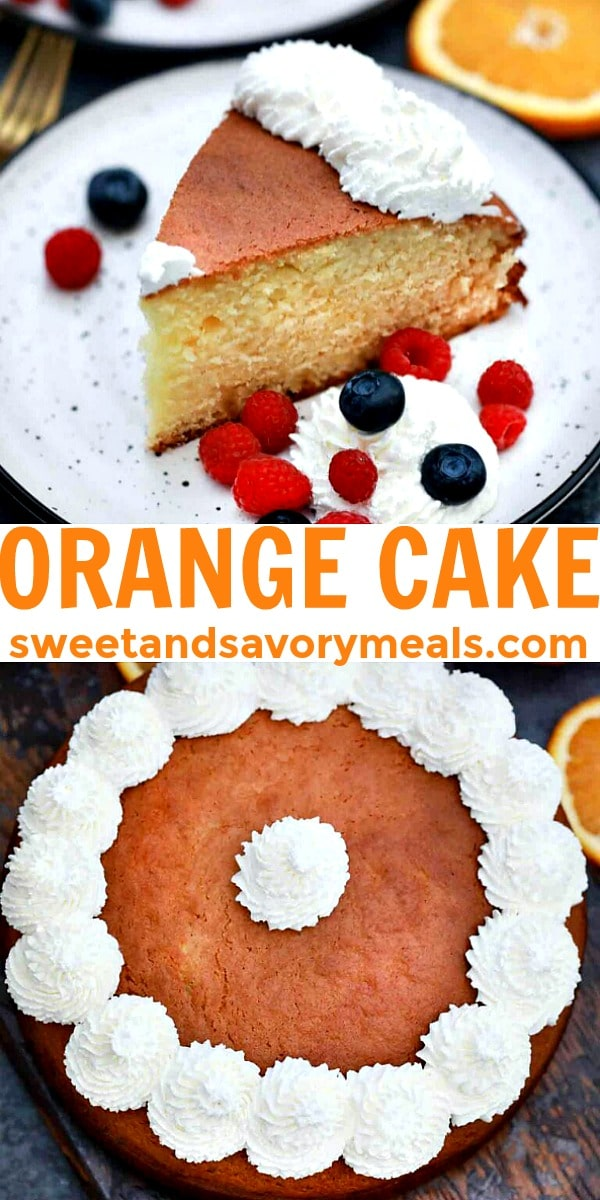 Easy Orange Cake pin