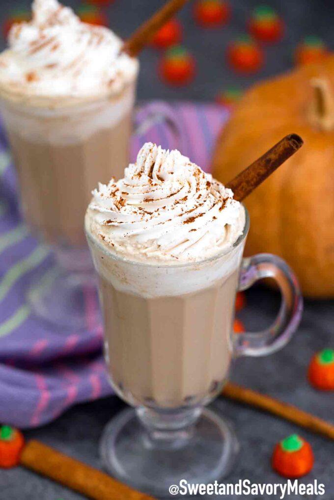 Starbucks pumpkin pie latte copycat