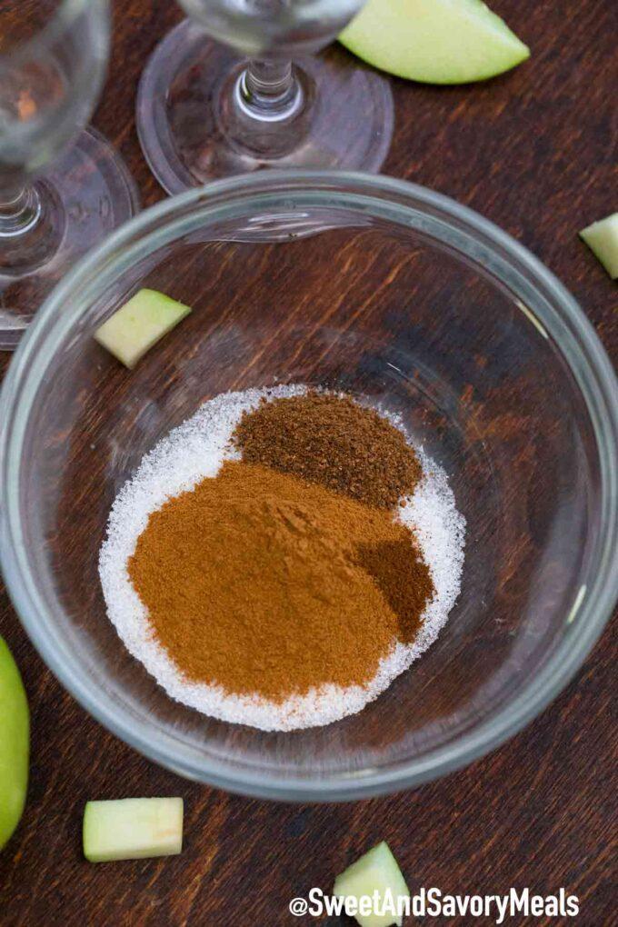 cinnamon sugar glass rim ingredients