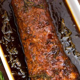 Balsamic Pork Loin Roast