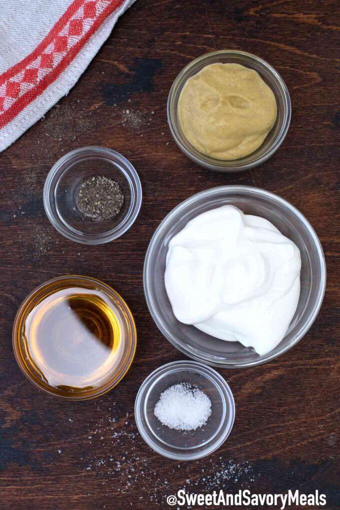 honey mustard sauce ingredients