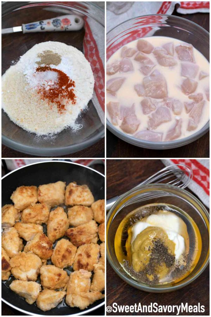 steps how to make chick fil a chicken nuggets