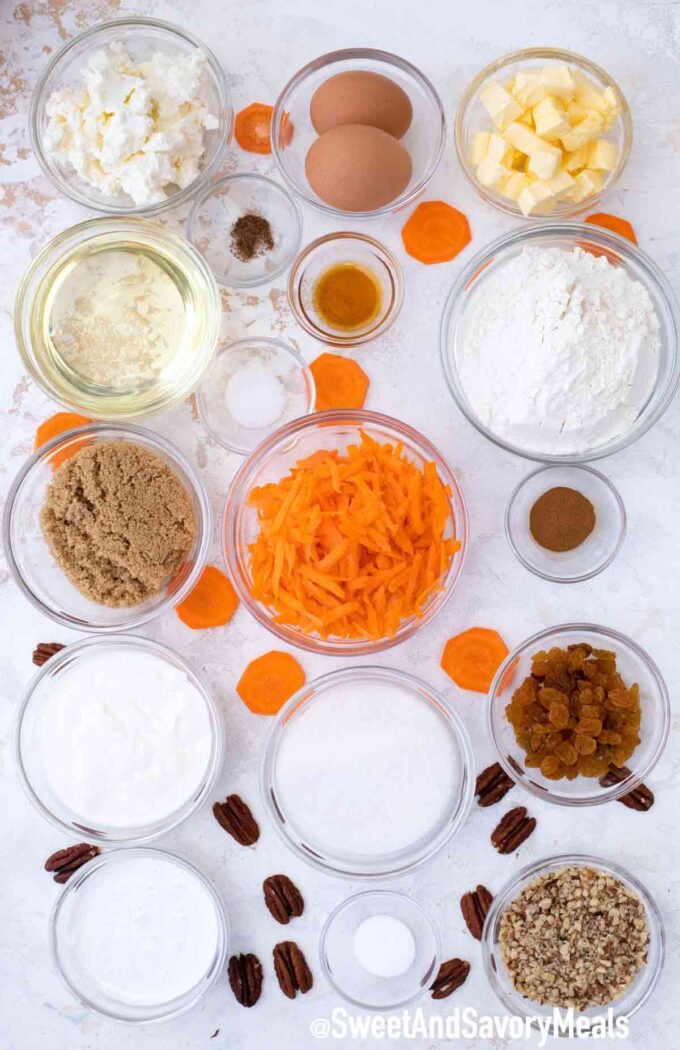 instant pot carrot cake cheesecake ingredients