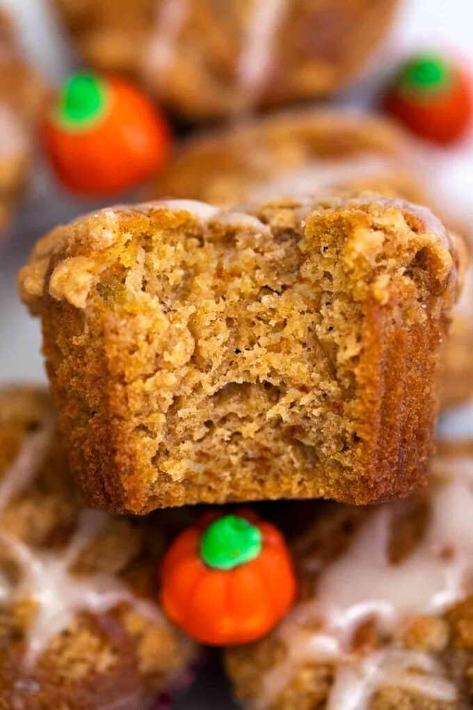 Homemade pumpkin muffin recipe