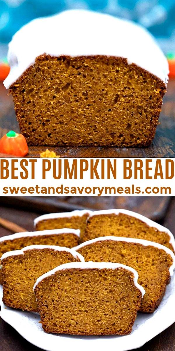 easy pumpkin bread pin