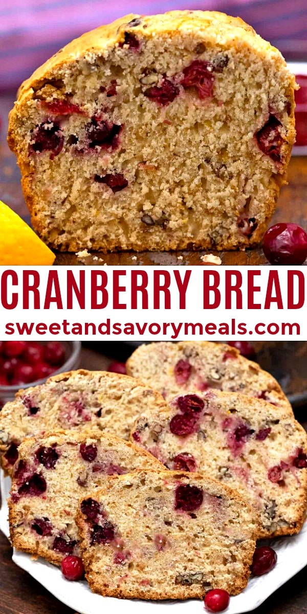easy cranberry bread pin