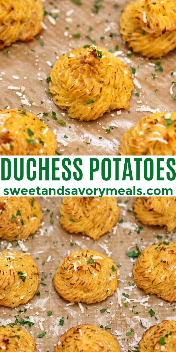 easy duchess potatoes pin