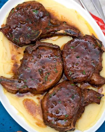 Brown Sugar Baked Pork Chops