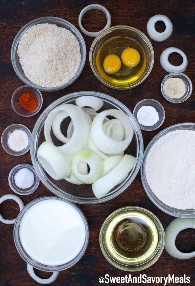 onion rings ingredients
