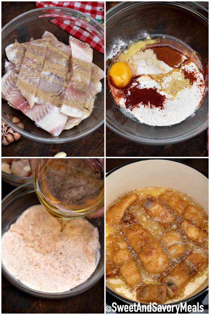 steps how to make beer battered fish