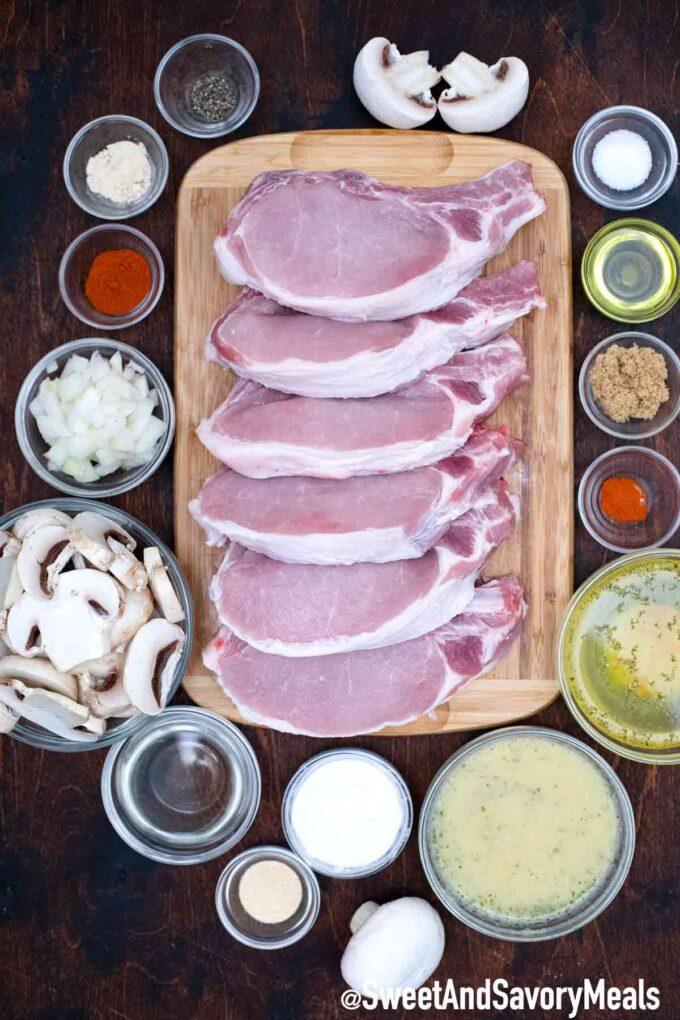 Instant pot pork chops ingredients - recipe
