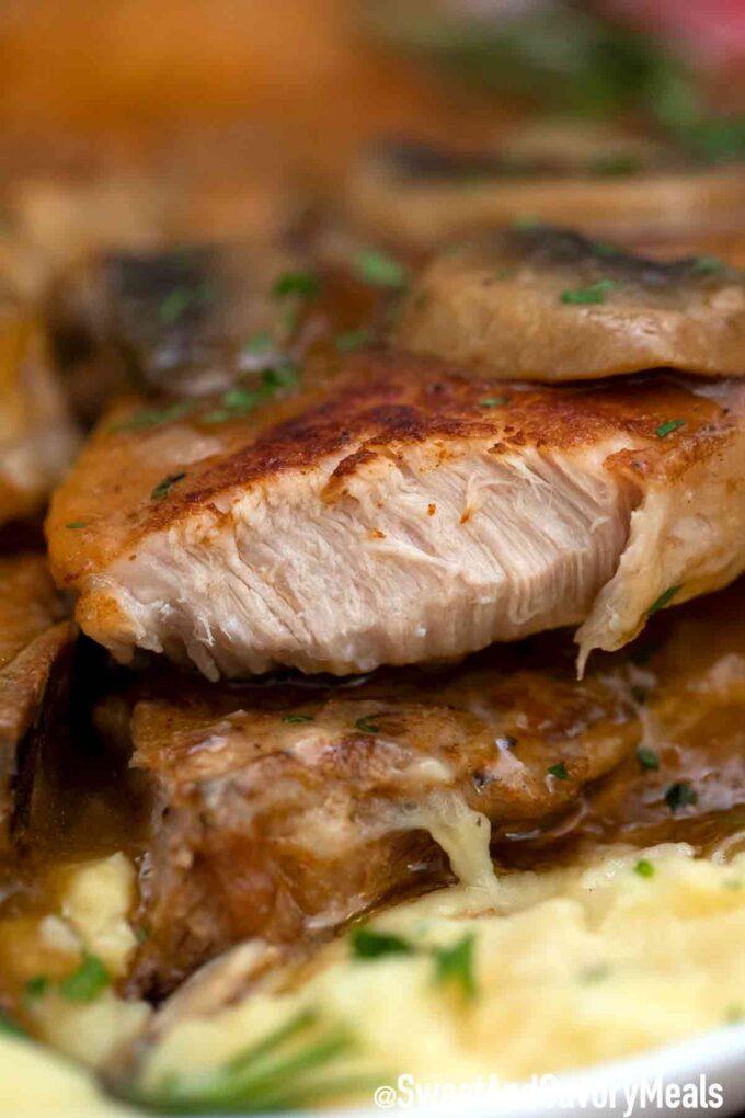 Tender pork chops