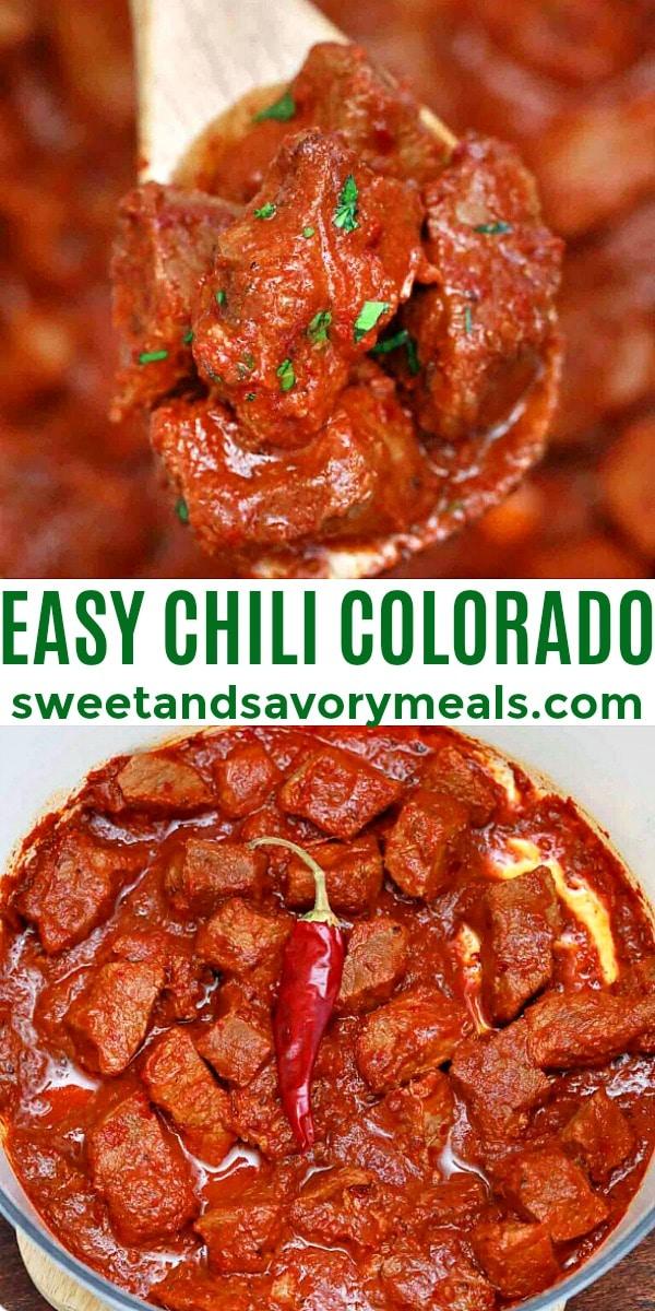 easy homemade chili colorado pin