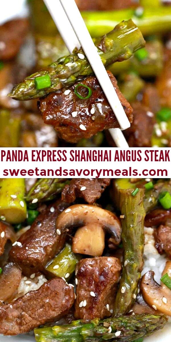 easy panda express shanghai angus steak pin