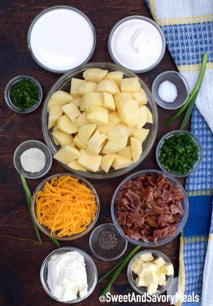 mashed potato casserole ingredients