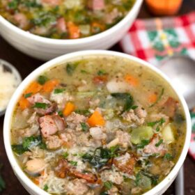 Speck-Cannellini-Suppe