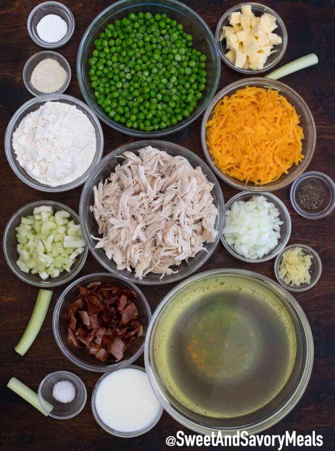 chicken and dumplings casserole ingredients