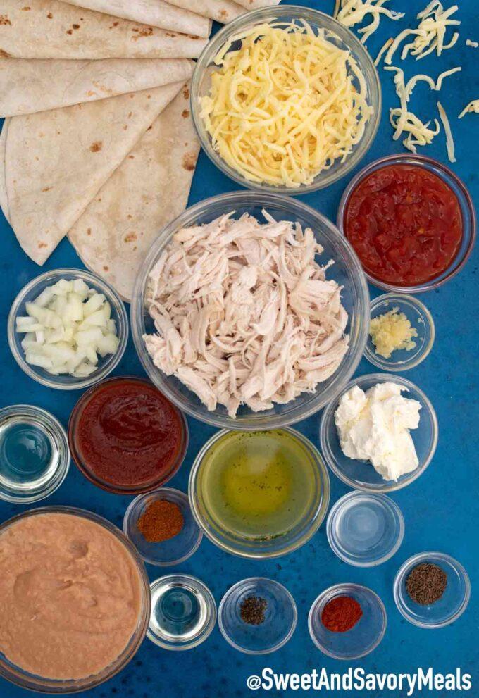 chicken chimichangas ingredients
