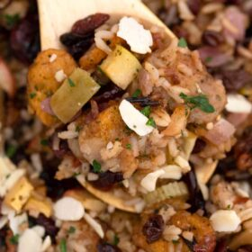 cranberry stuffing with dried cranberries