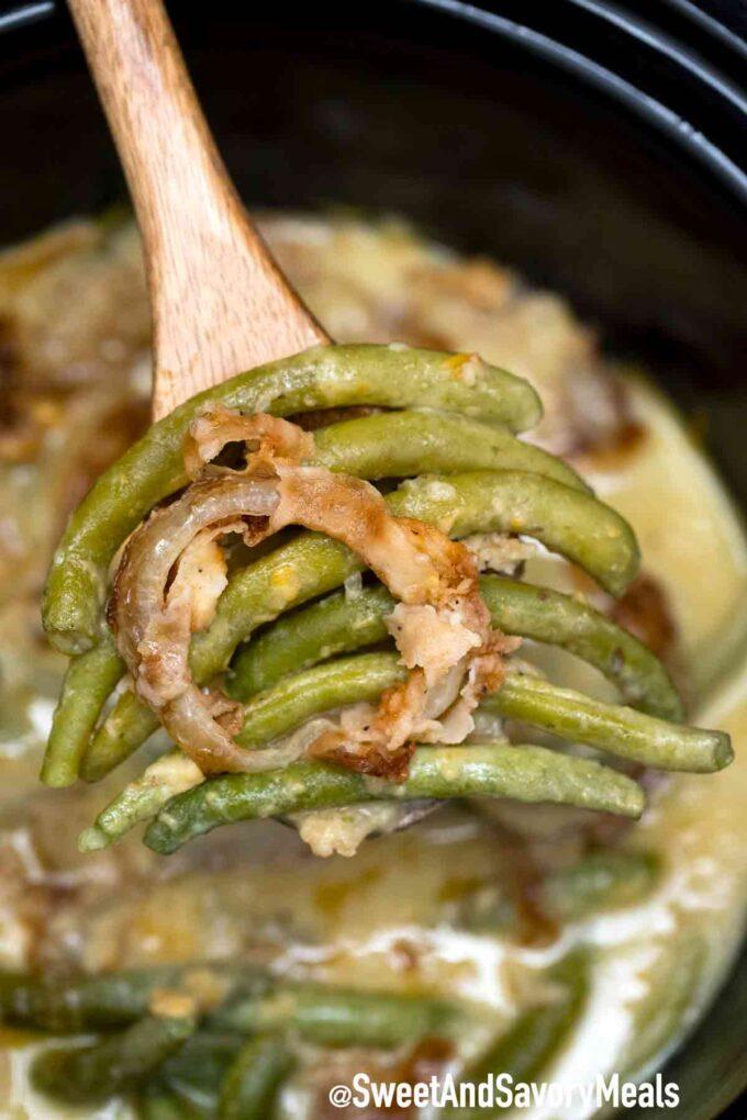 crockpot green bean casserole