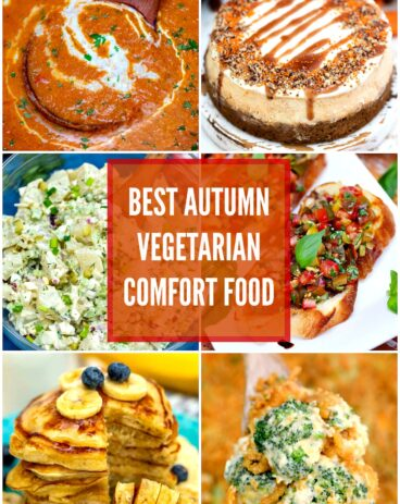 Best autumn vegetarian comfort food recipes