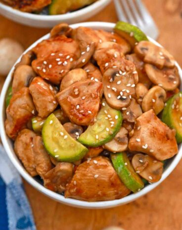 Panda Express Mushroom Chicken Copycat