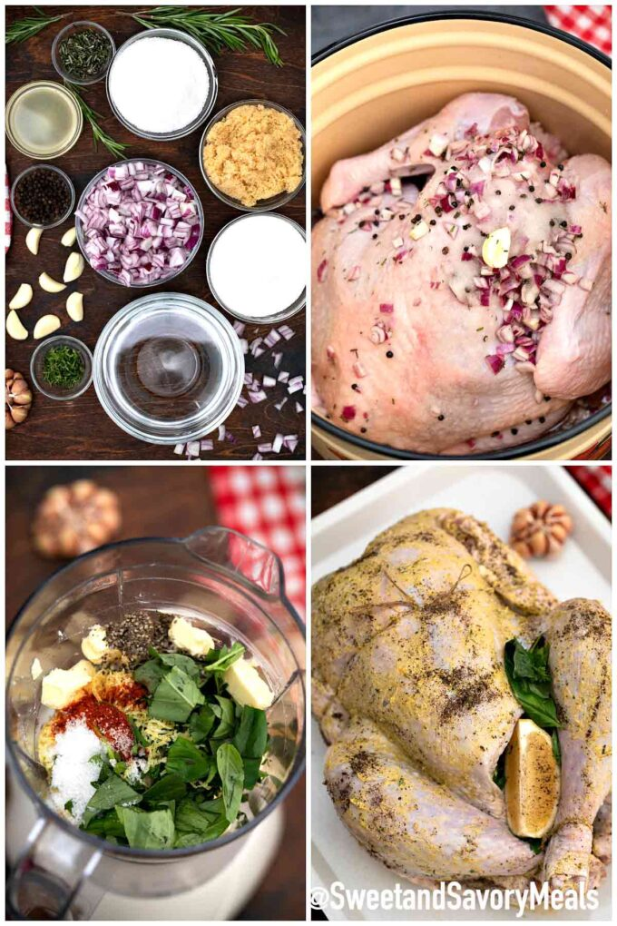 steps how to make herb roasted turkey