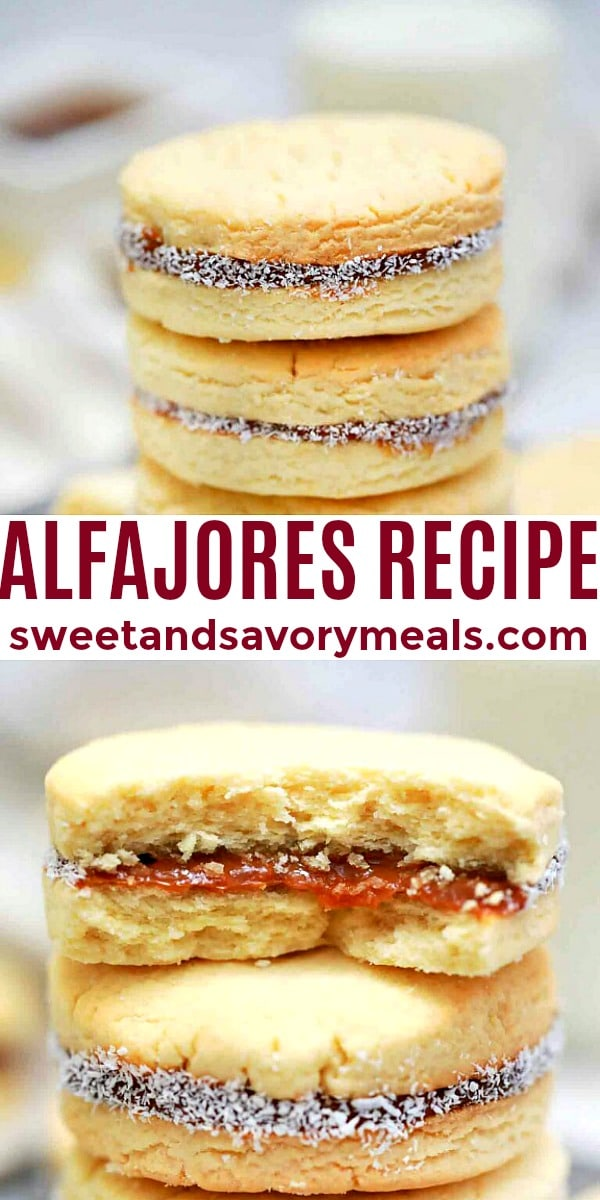 easy alfajores pin
