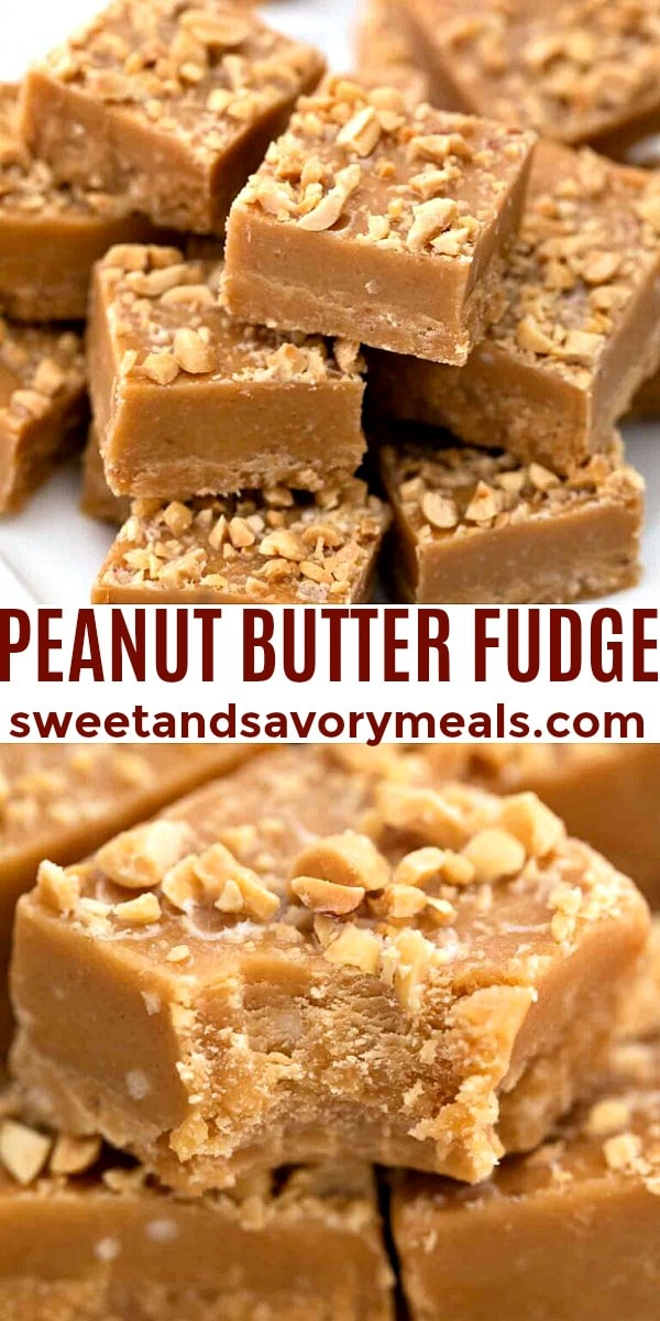 easy peanut butter fudge pin