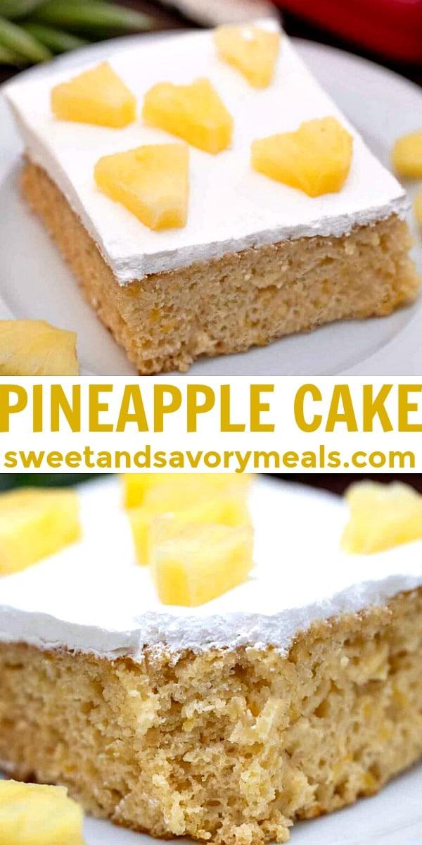 easy pineapple cake pin