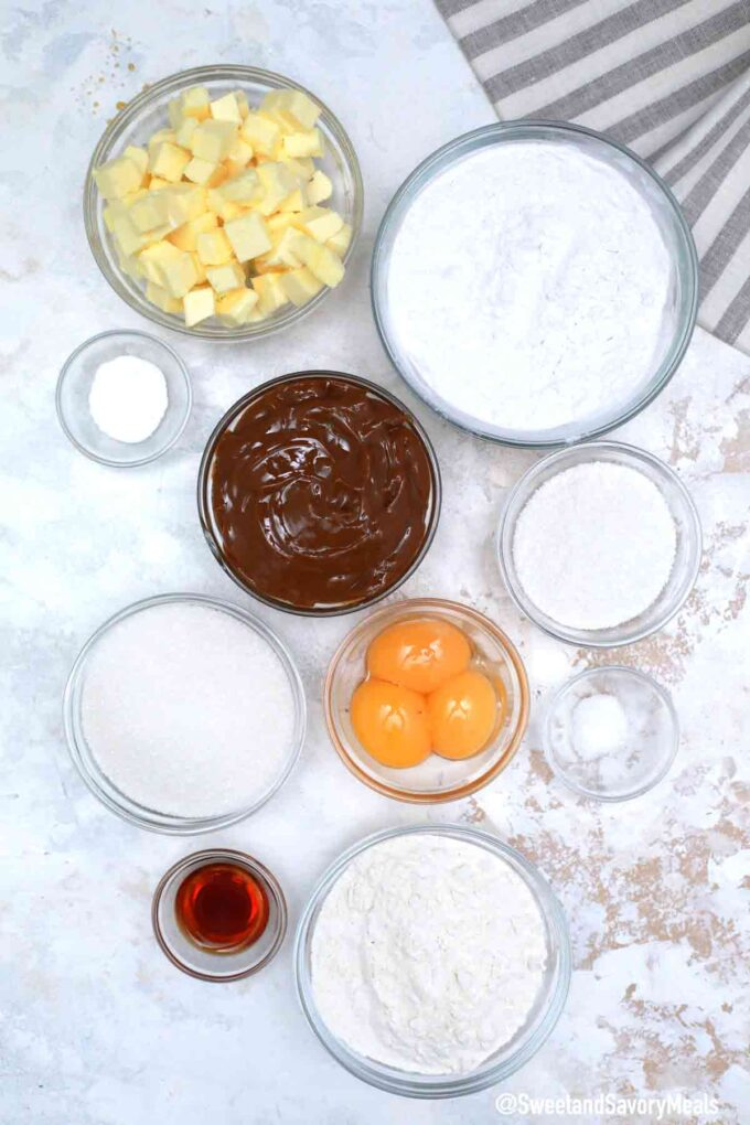 alfajores ingredients