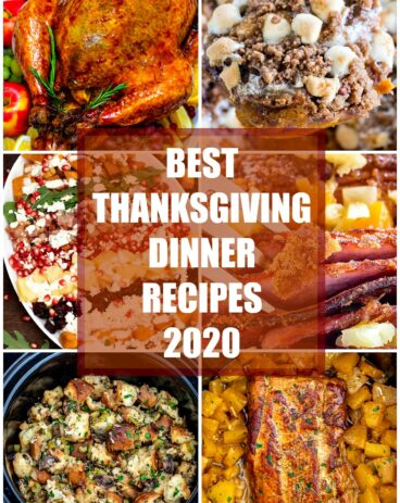 Best Thanksgiving dinner recipes 2020