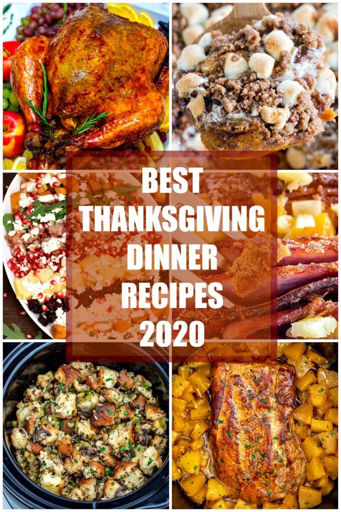 best thanksgiving dinner recipes 2020