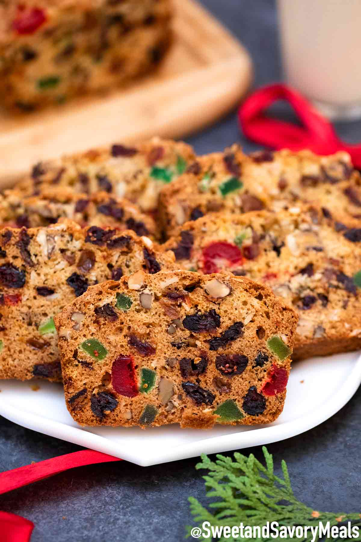 Fruit Cake Recipe Video Sweet And Savory Meals