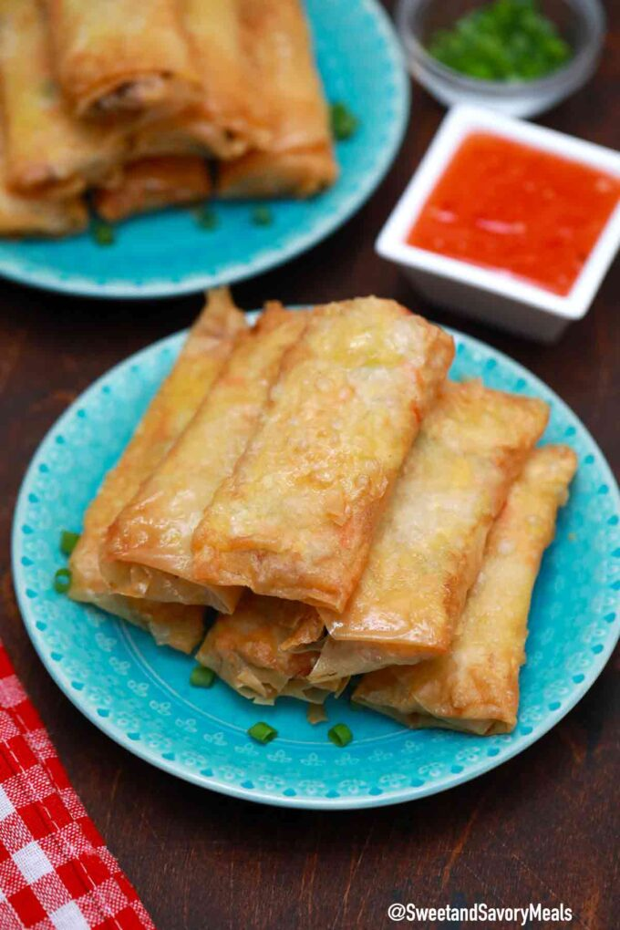 Panda Express chicken egg rolls