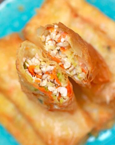 Panda Express Chicken Egg Rolls Copycat
