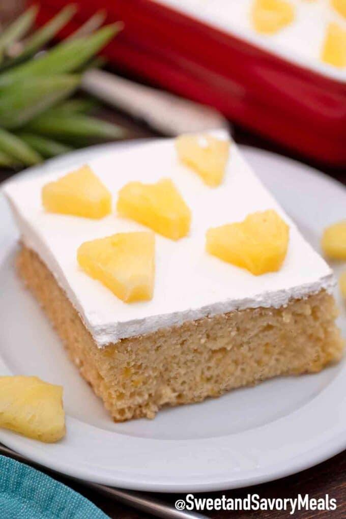 Ananas-Kuchen