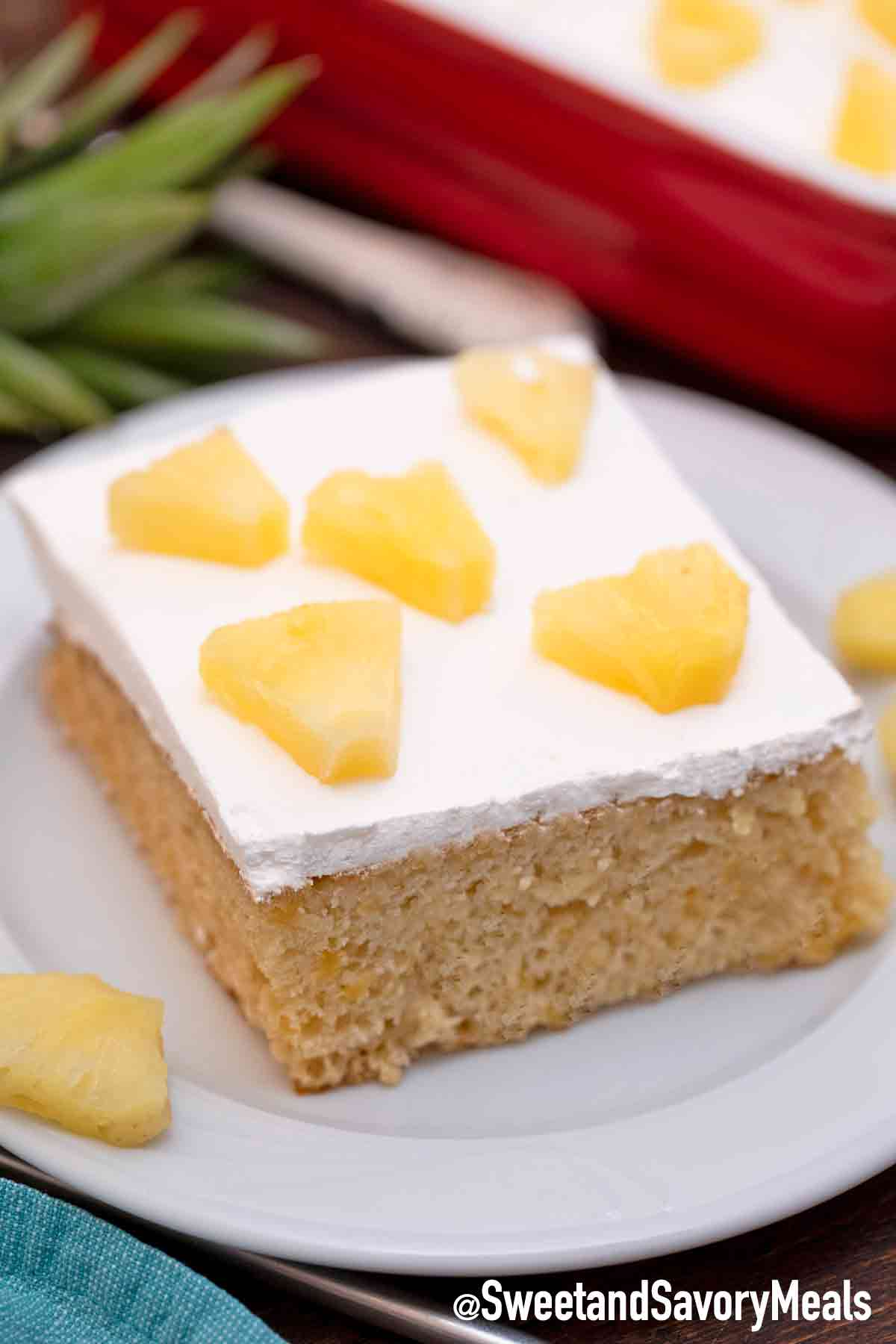 Pineapple Cake Recipe Video Sweet And Savory Meals